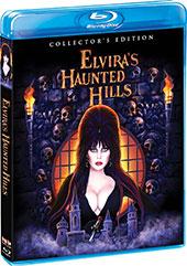 Elvira's Haunted Hills Blu-Ray Cover