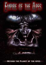 DVD Cover for Empire of the Apes
