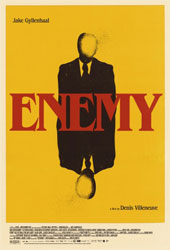 Poster for the Jake Gyllenhaal top 2014 drama, Enemy