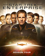 Blu-Ray Cover for Star Trek Enterprise Season 4