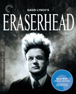 The Criterion Collection Blu-Ray cover for Eraserhead