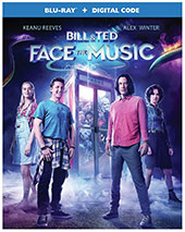 Bill & Ted Face the Music Blu-Ray Cover
