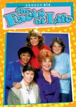 DVD Cover for The Facts of Life Season 6