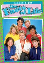 DVD Cover for The Facts of Life: Season Eight