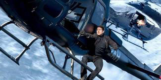 Tom Cruise is back as Ethan Hunt - and more death-defying stunts, in the top 2018 action movie Mission:Impossible - Fallout