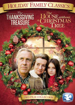 DVD Cover for Holiday Family Classics: The Thanksgiving Treasure/The House Without a Christmas