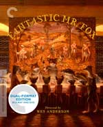 Fantastic Mr. Fox Criterion Collection Blu-Ray Cover