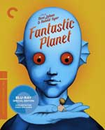 Criterion Collection Blu-Ray Cover for Fantastic Planet