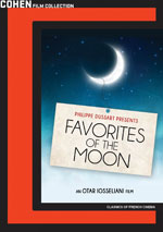 DVD Cover for Favourites of the Moon