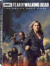 Fear the Walking Dad: The Complete Fourth Season DVD Cover