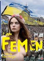DVD Cover for I Am FEMEN