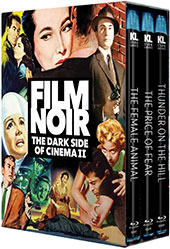 Film Noir: The Dark Side of Cinema II Blu-Ray Cover