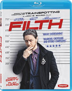 Filth Blu-Ray Cover