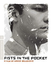 Fists in the Pocket Criterion Collection Blu-Ray Cover