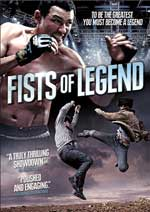 DVD Cover for Fists of Legend