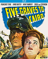 Five Graves to Cairo Blu-Ray Cover