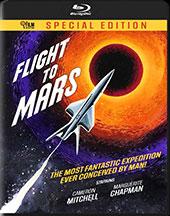 Flight to Mars Blu-Ray Cover