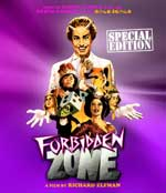 Forbidden Zone Blu-Ray Cover
