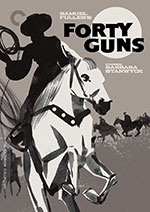 The Criterion Collection Blu-Ray Cover for Forty Guns