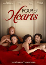 DVD Cover for Four of Hearts
