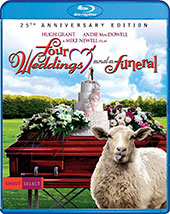 Four Weddings and a Funeral 25th Anniversary Blu-Ray Cover