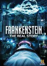 Frankenstein: The Real Story DVD Cover