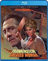 Frankenstein Created Women Blu-Ray Cover