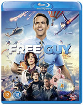 Free Guy Blu-Ray Cover