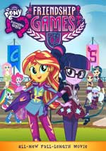 DVD Cover for My Little Pony: Equestria Girls: Friendship Games