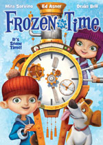 DVD Cover for Frozen in Time