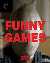 Funny Games Criterion Collection Blu-Ray Cover