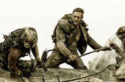 Tom Hardy gets down to business in Mad Max: Fury Road