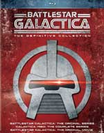Battlestar Galactica: The Definitive Collection Blu-Ray Cover