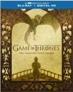 Game of Thrones: The Complete Fifth Season Blu-Ray Cover