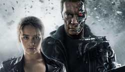Arnold Schwarzenegger and Emilia Clarke are the past, present and future in the top action film of 2015, Terminator Genisys
