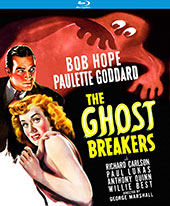 Ghost Breakers Blu-Ray Cover