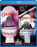 Ghoulies and Ghoulies II Blu-Ray Cover