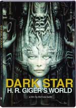 DVD Cover for Dark Star: H.R. Giger's World