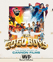 The Go-Go Boys: The Inside Story of Cannon Films Blu-Ray Cover