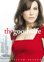 DVD Cover for The Good Wife: The Fifth Season
