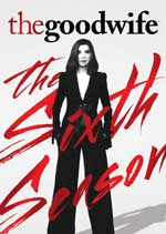 DVD Cover for The Good Wife: The Sixth Season