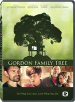 DVD Cover for Gordon Family Tree