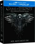 Game of Thrones: The Complete Fourth Season Blu-Ray Cover