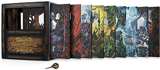Game of Thrones: The Complete Collection Blu-Ray Cover