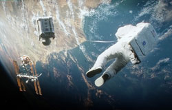 Sandra Bullock Finds Herself On Her Own in the top 2013 drama Gravity