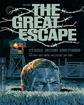 The Great Escape Criterion Collection Blu-Ray Cover