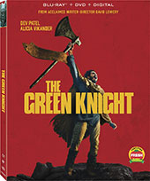 Green Knight Blu-Ray Cover