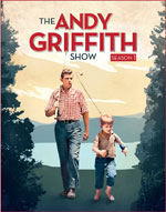 The Andy Griffith Show - Season One Blu-Ray Cover