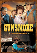 DVD Cover for Gunsmoke: The Tenth Season, Volume One and Volume Two