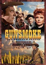 DVD Cover for Gunsmoke - The Twelfth Season - Volume 1